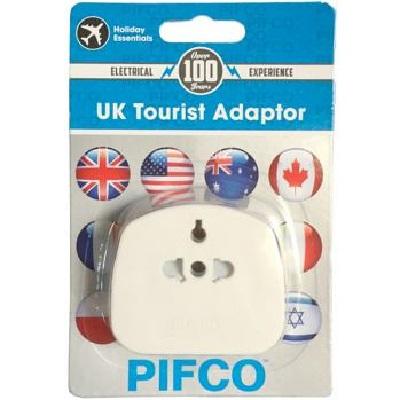 PIFCO UK Tourist Adaptor